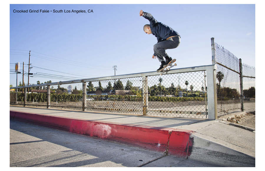 Skateboard Victor Garibay - Crooked Grind Fakie