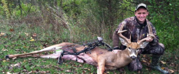 Hunting A GREAT INDIANA RUT BUCK FOR DUSTIN GILLESPIE.  Article osted by Mark Kenyon on 19 Mar 2013