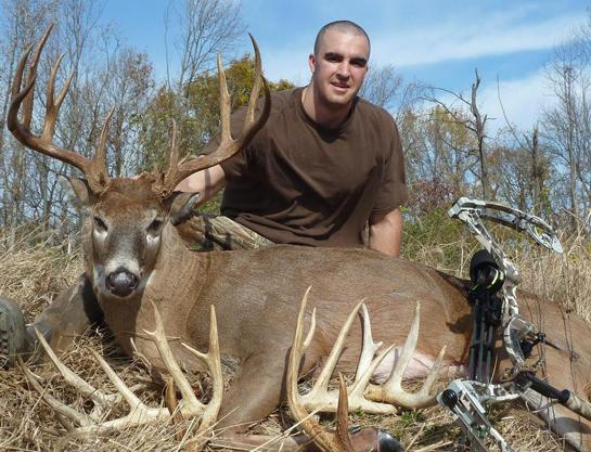 Hunting Maryland Bowhunter Takes Monster 194-Inch Buck.  Article by Marc Alberto