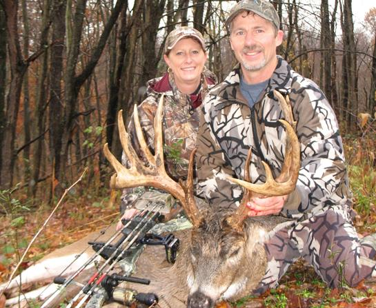 Hunting Ohio Bowhunter Takes 175-Inch Birthday Buck.  Article by Marc Alberto