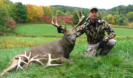 Hunting Three-Year Hunt for 155-Inch Wisconsin Buck.  Article by Marc Alberto
