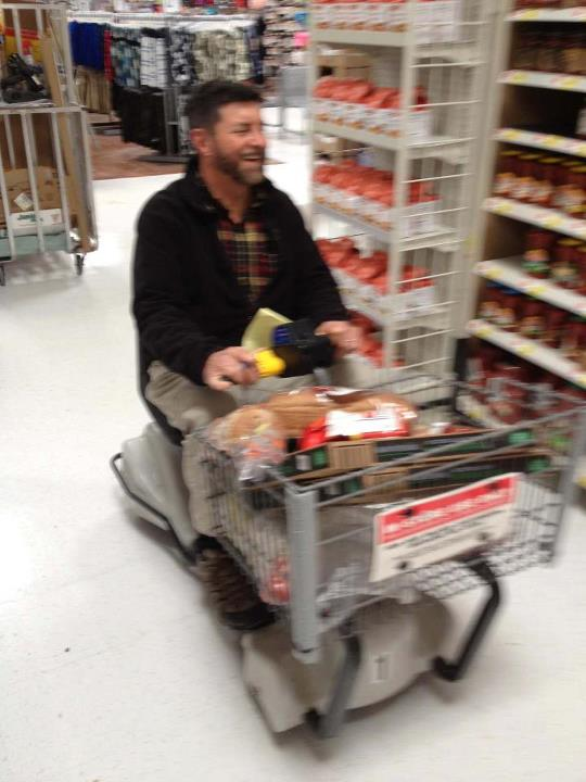 Entertainment Will taking a joy ride through Walmart, and embarrassing Jimmy at the same time.