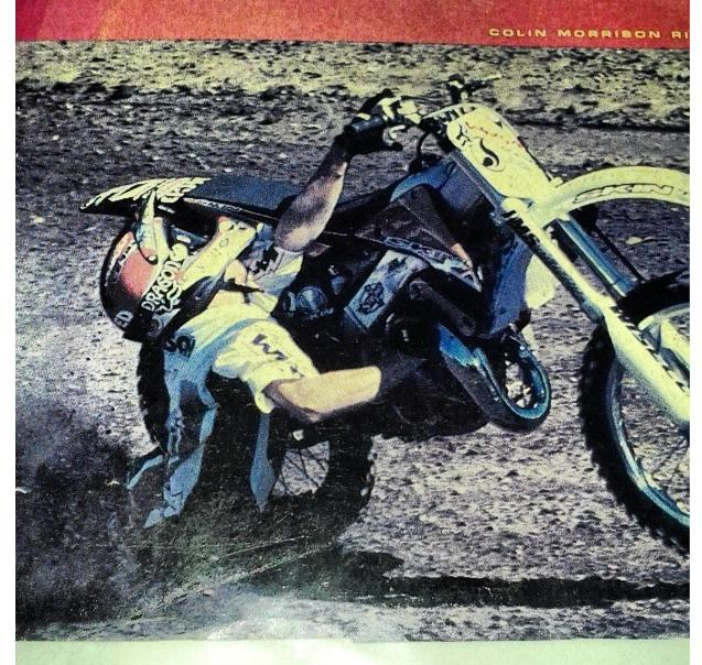 Motorsports Throwback Thursday: Colin Scummy Morrison digging dirt at the 99 Gravity Games. All dirt no ramps. True OG!