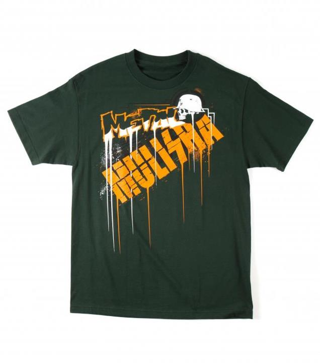 Motorsports DRIP TEE $24.00 STYLE # M335S18309 Metal Mulisha Mens tee. 100% Cotton. Screenprint. http://www.metalmulisha.com/shop/clothing/mens/tees/drip-tee/