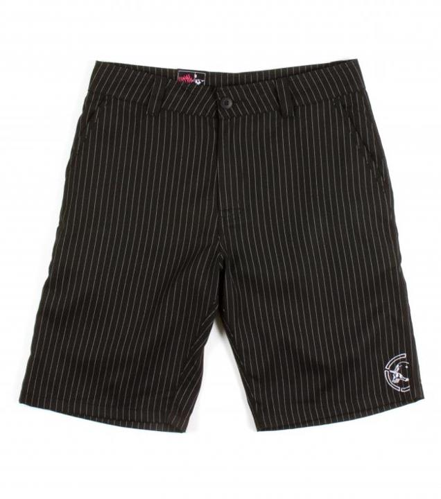 "Motorsports GRAVEL SHORTS $49.00 $40.99 STYLE # M13508101 Metal Mulisha Mens shorts. 65% Poly / 35% Cotton twill. 23"" Outseam chino fit walkshort, yarn dye stripe, cell phone pocket, logo embroidery. http://www.metalmulisha.com/shop/clothing/mens/shorts/gravel-shorts"