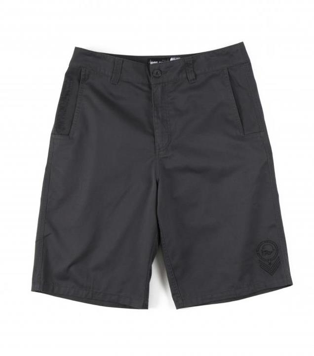 "Motorsports IMPRESSION SHORTS $44.00 STYLE # M23508200 Metal Mulisha Mens shorts. 65% Poly / 35% Cotton heathered worker twill. 23"" outseam chino walkshort. http://www.metalmulisha.com/shop/clothing/mens/shorts/impression-shorts/"