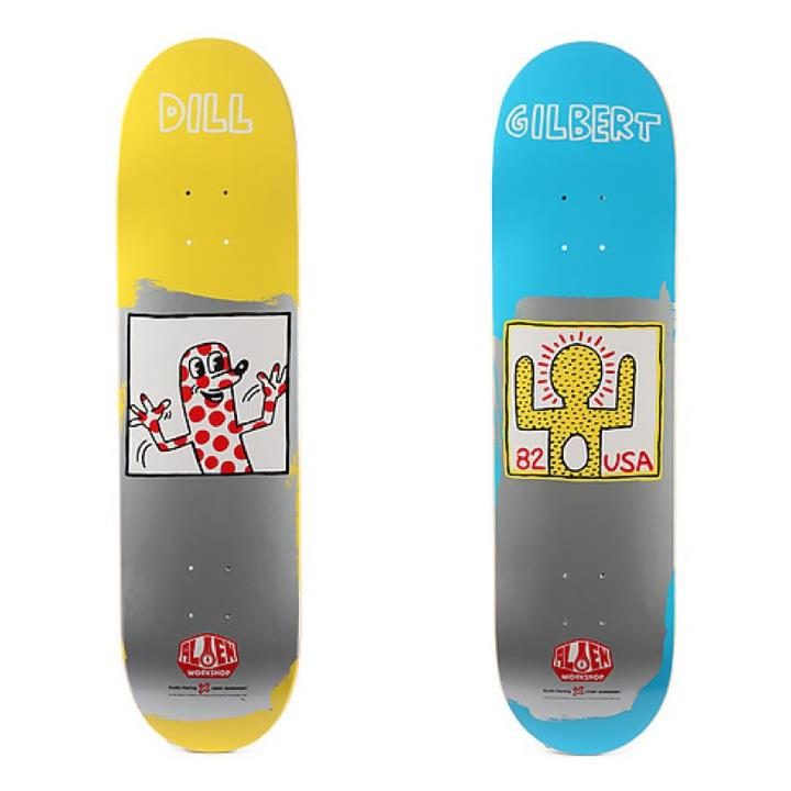 Skateboard Might be your last chance to grab some Jason dill and AVE decks from Alien Workshop forever!