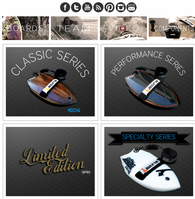 Surf What do you think of our new website design?
