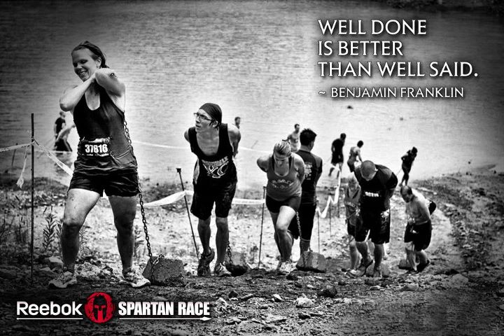 Fitness Don't just do a Spartan Race, dominate it.