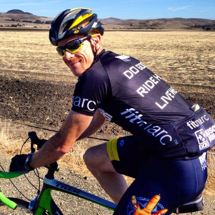 Fitness Big D sportin the limited edition Rooster Racing jersey...and is that an Evoke Apparel Company logo on the back? Why yes it is. Did you know that every Evoke product gives you the opportunity to give back to this great cause? Simply select them as your ch