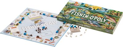 Once you cast the dice in this game, you'll be hooked. Play the game and earn money by buying, selling and trading fish and fishing gear with other players. Watch out for snags or you'll spend three turns hung up while others pass you by. The cards also contain some fun fishing facts. This is a great game to have on hand at the cabin or lodge when high winds or storms chase you off the water, and it's a fun way to teach kids fishing terminology. - $4.88