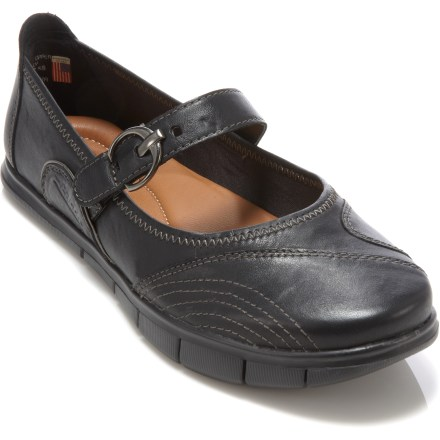 Put a little pep in your step with the hybrid slip-on/Mary Jane-style Kalso Rally shoes. - $26.73