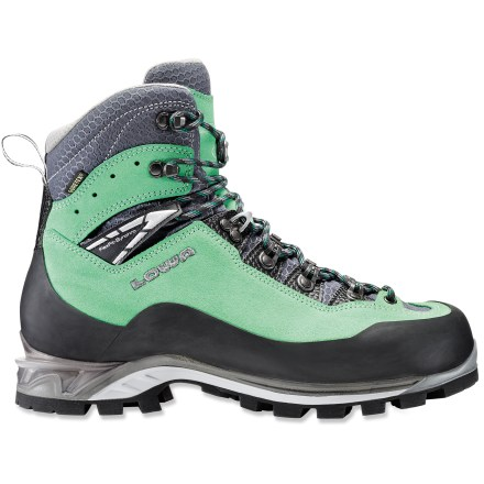 Climbing Ligthweight, flexible and supportive, yet tough enough for technical ascents, the Lowa Cevedale Pro GTX mountaineering boots will help you climb high while keeping your feet dry. - $189.83