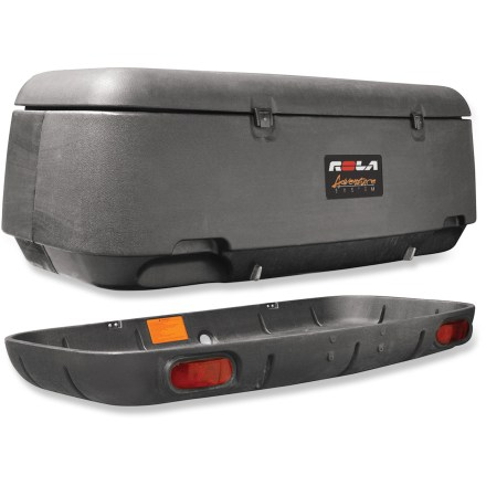 Entertainment The ROLA Adventure System Hitch Mount Cargo Carrier with Tilt Assembly is a great alternative to a roof box, offering a low load level for easy access to gear. - $600.00
