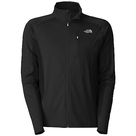 Free Shipping. The North Face Men's Teocalli Jacket DECENT FEATURES of The North Face Men's Teocalli Jacket Wind resistant Breathable Chest zip pocket Zip back pocket with reflective infusion Reflective logos The SPECS Average Weight: 8.82 oz / 250 g Center Back Length: 28in. Body: 160 g/m2 (4.7 oz/yd2) 100% polyester jersey face fleece with brushed backed Panels: 196 g/m2 (5.7 oz/yd2) 100% polyester dobby knit mesh This product can only be shipped within the United States. Please don't hate us. - $98.95