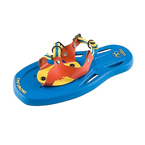 On Sale. Tubbs Kids' Snowflake Snowshoe The SPECS Dimensions: 6.5in. x 14in. / 17 x 36 cm Weight/Pair: 1.3 lbs / 0.60 kg OVERSIZE ITEM: We cannot ship this product by any expedited shipping method (3-Day, 2-Day or Next Day). Even if you pick that option, it will still go Ground Shipping. Sorry for being so mean. - $21.99