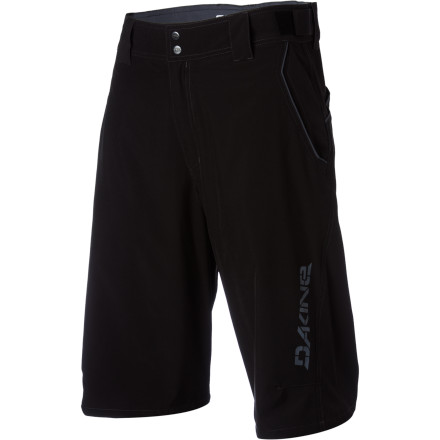 Fitness The Dakine Pace Short is a back-to-basics riding short that just happens to split between subtle styling and way-out-there graphics. More importantly, however, the Pace Short packs all the comfort and performance of shorts that cost three times as much.Dakine built the Pace Short with tough polyester and spandex fabric. Since nylon is already abrasion-resistant, Dakine was able to use a light 145-gram weave. Reinforced stitching throughout key areas of stress ensure long wear. A four-way stretch back panel and gusseted crotch add durability and an unlimited range of motion.The Pace short comes with front and back pockets to take care of your valuables, and exterior waist adjustments and belt loops allow you to dial in the perfect custom fit.The Dakine Pace Short comes in four sizes between Small to XX-Large. It's available in Red, Kelly, Charcoal, or Black. - $64.95