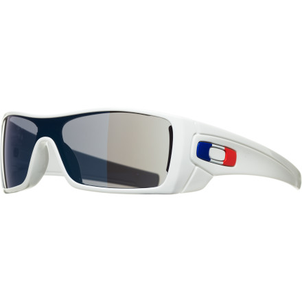 Entertainment Show your pride for your country with the Oakley Country Flag Batwolf Sunglasses at the next international sporting event. Oakley crafted an array of sunglasses with national colors and matched each one with specially chosen lens and frame hues to complete the fan-fever look you've been wanting to sport. - $91.00