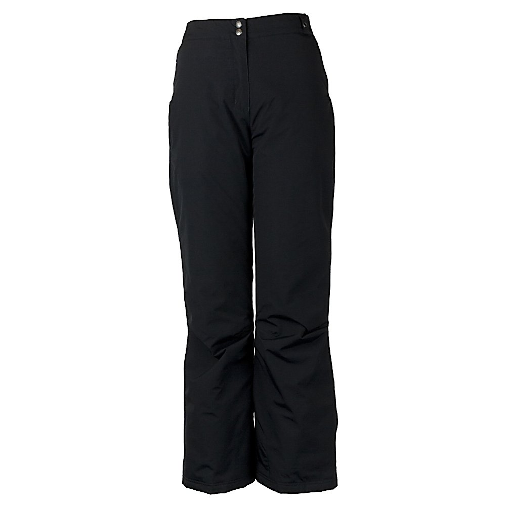 Ski Obermeyer Sugarbush Long Womens Ski Pants - The Obermeyer Sugarbush Long Ski Pants are a classic fit pair of comfortable, warm and cute pants that you could wear all day on the slopes. They offer a soft Permaloft Needlepunch Insulation to keep your days on the slopes as comfy as possible. The lightweight insulation is water-resistant and adjusts to the body's position. With HydroBlock, you'll have a polyurethane coating that ensures that these Sugarbush Pants are both waterproof and breathable so you can stay dry and warm even when the weather outside is chilly and snowy. Style and quality are the features you demand when you're on the mountain, The Sugarbush Long Stretch Pant by Obermeyer full fills your requests. The Obermeyer Sugarbush Long Ski Pant is for women who want a sleek, functional pant that's comfortable to wear. The Sugarbush Pant has a feminine shape, but the fit is looser for great freedom of movement and versatile enough for all different temperatures. Features: Ski pass/ticket ring. Exterior Material: Nylon, Softshell: No, Insulation Weight: 60g, Taped Seams: Critically Taped, Waterproof Rating: 8,000mm, Breathability Rating: 5,000g, Full Zip Sides: No, Thigh Zip Venting: No, Suspenders: None, Articulated Knee: Yes, Low Rise: No, Warranty: Lifetime, Race: No, Waterproof: Mild Waterproofing (5,001 - 10,000mm), Breathability: Low Breathability (< 5,000g), Use: Ski, Type: Insulated, Pant Fit: Regular, Lining Material: Nylon blend, Waist: Elastic, Pockets: 1-2, Model Year: 2014, Product ID: 276675, Model - $95.00