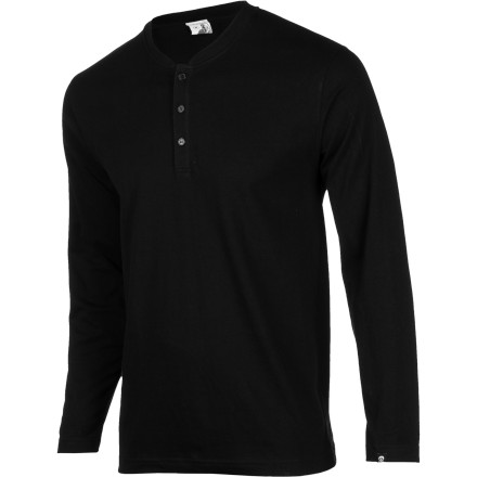 Why is it so damn hard to find simple, solid-colored shirts without a bunch of crap printed on them Grab the Gnarly Men's Hensley Shirt and hold on tight. It might be a while before you find a no-frills, throwback-style henley tee like this again. - $9.57