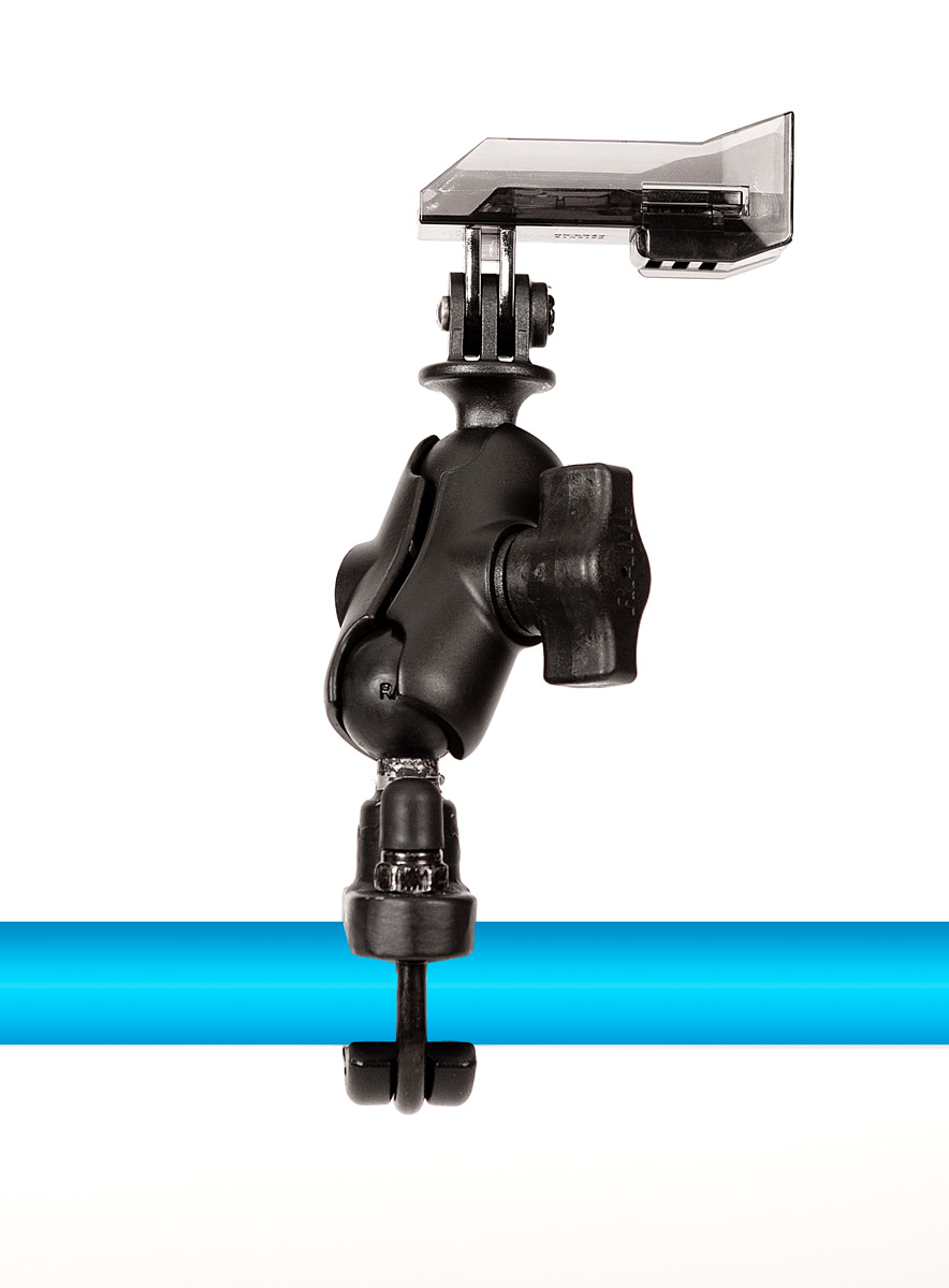 Entertainment Our MotoR Mount is perfect for mounting your Hitcase to Motorcycle and ATV Handle Bars. Fits tubes from 0.50 to 1.25 (12.7mm to 31.75mm) in diameter. Heavy duty ball and socket system allows for infinite adjustment to get the perfect angle for the ultimate shot. - $49.99
