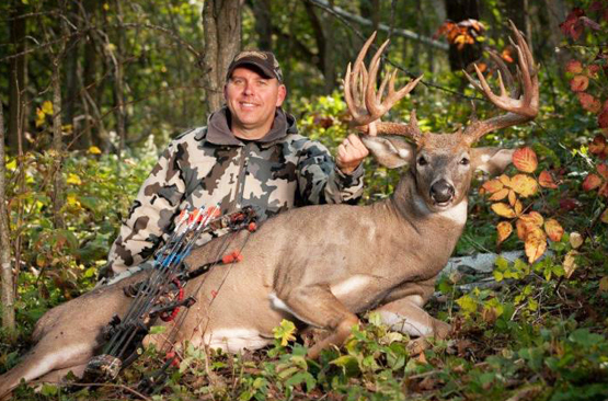Hunting Possible Minnesota and Wisconsin Nontypical Bow Records Tagged On Opening Weekend.  Article by Scott Bestul