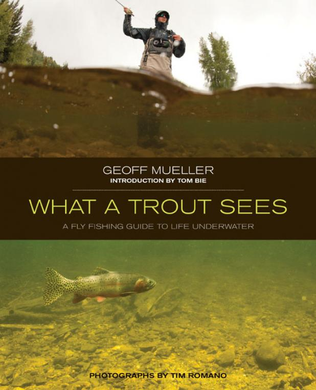 Flyfishing Fishing Book Review: 'What a Trout Sees' is a Must-Have for Fly Fishermen.  Article by Kirk Deeter uploaded March 20, 2013