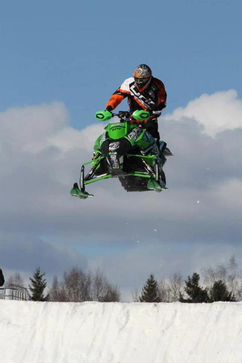 Snowmobile Christian Lands Podium Finish At Clash Of Nations