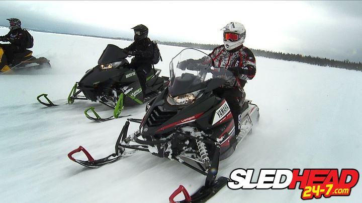 Snowmobile We're not done with our 2014 evaluations yet!!  Stay tuned for original online content as we show you how the new Yamaha Viper stacked up in the middleweight trail performance segment.