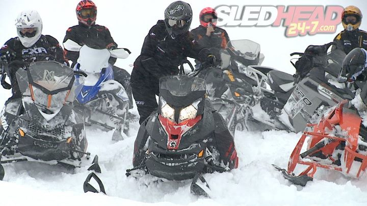 Snowmobile Who got snow ?!  We had a large storm roll through the Midwest recently!  Mid-April!