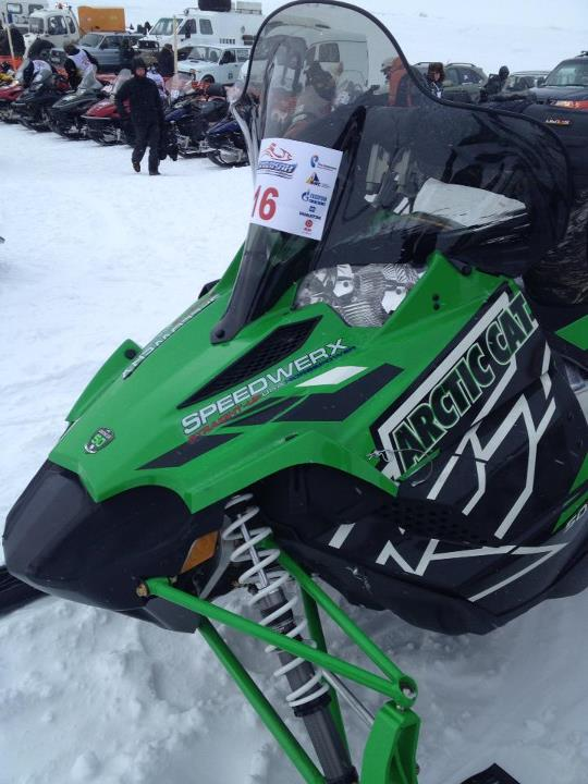 Snowmobile Team USA is almost ready to race!