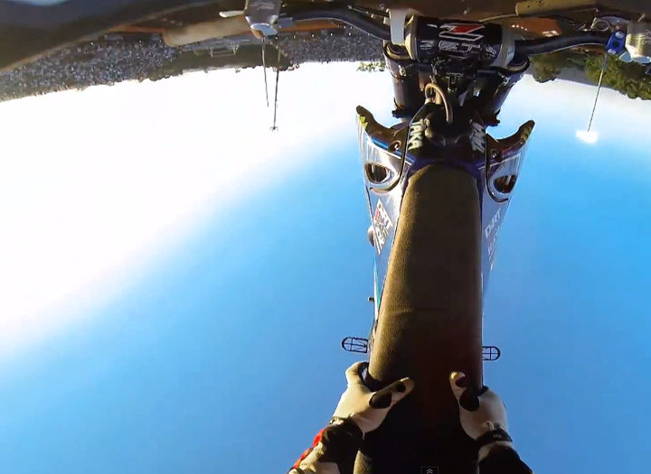 Motorsports Check out the amazing POV footage that Taka Higashino captured with his GoPro Hero 3 during X Games Brazil!