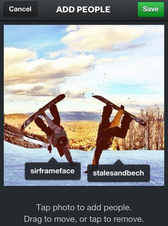 Snowboard The new version of Instagram lets you tag your friends in your photos. If you're rocking Rome gear in any of your shots, tag us in it and we'll repost our favorites!