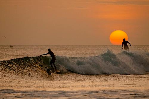 Surf Enjoy the sunset on this Friday