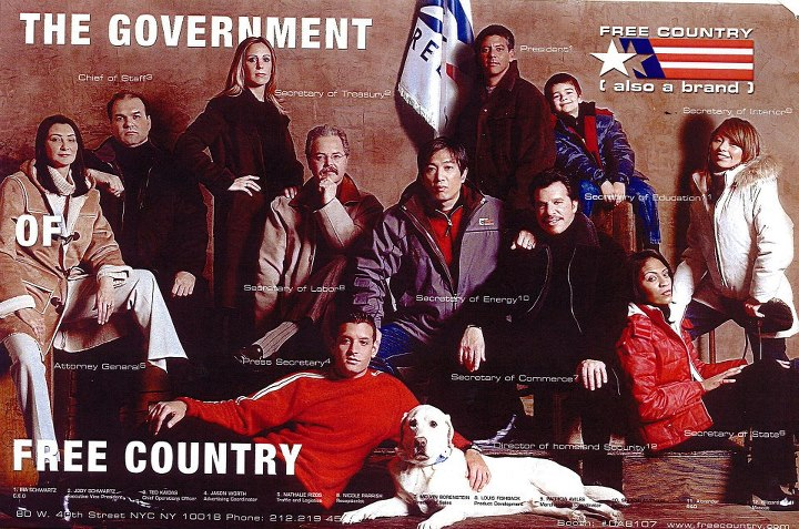 "Entertainment 2002 Marketing Campaign - ""The Government of Free Country"""