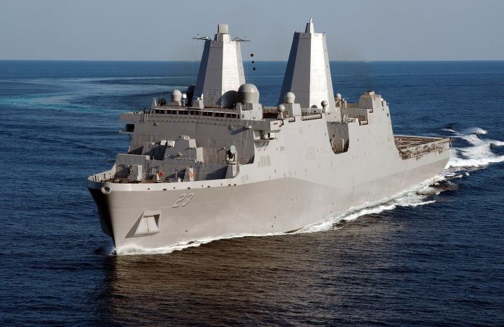 Guns and Military The Navy's newest amphibious transport dock ship will join the fleet Saturday during a commissioning ceremony in her namesake city in Alaska. 