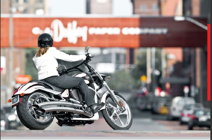 Auto and Cycle May is Women Riders Month and we want to give a shout out to all the women who ride on two wheels.