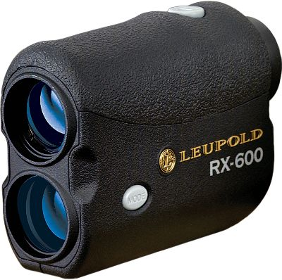 Leupold's RX-600 Laser Rangefinder incorporates advanced digital electronics to deliver super-accurate range measurements up to 600 yards. Enhanced digital signal processing and a simplified Quick Set Rotary Menu make it quicker and easier than ever to obtain accurate distance measurements. Get a closer look at your target using the 6X magnification and three user-selectable reticles. All lenses are multicoated to alleviate light loss. Displays distance in yards and meters. Fold-down eyecups. Field of view: 325 ft.Color: Black. - $149.88