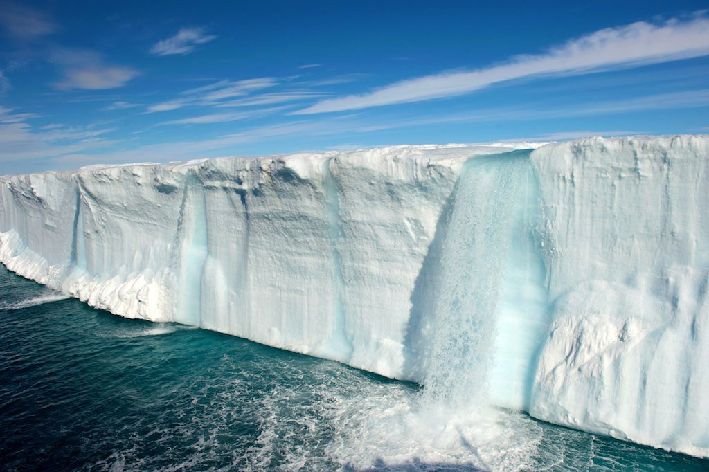 Entertainment Glacial Waterfalls