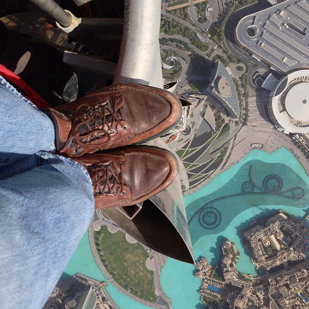 Entertainment looking-down-from-top-of-burj-khalifa