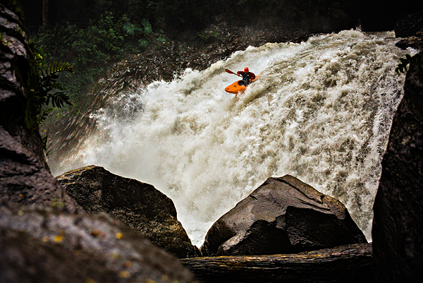 Kayak and Canoe Kayaking the Gol Gol River, Whitewater Grand Prix, Chile