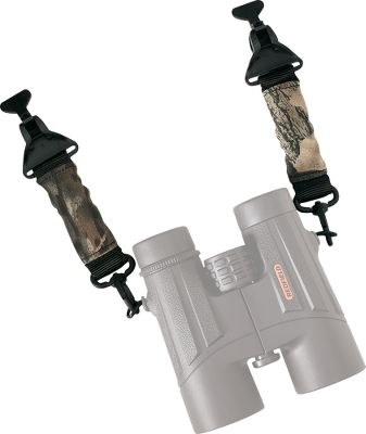 Securely attach your binoculars to vests, packs, treestand harnesses, coats, tee shirts, ground blinds and more. The Bino system is extremely comfortable and effectively eliminates fatigue in your neck and shoulders. Stretchable, retractable design with simple clip on/off with extreme gripping power. Works on all sizes of binoculars and rangefinders.Color: Camo. - $12.88