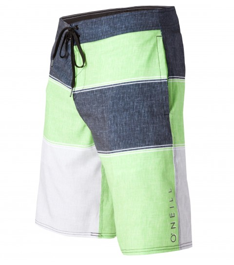 "Surf O'Neill Dwell Boardshorts.  Epicstretch.  21"" Outseam boardshort features superfly closure; sideseam pockets; back pocket with button closure; woven label; embroidery and screened logos.Epicstretch is our most popular stretch fabric.  Not too stretchy; but has enough stretch to be a great performance fabric.  Our most versatile fabric when it comes to surfing; comfort; and just hanging out.  Made with a 130% vertical stretch and 120% horizontal stretch and has a durable water resistant coating for a faster dry time. - $32.99"