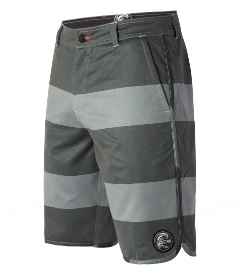 "Surf O'Neill Verse Hybrid Shorts.  Faux-Corduroy Stretch Polyester. 19"" outseam boardshort features scallop sideseam and hem; zipper fly; internal waistband drawcord; front and back pockets; woven label and embroidered logos. - $34.99"