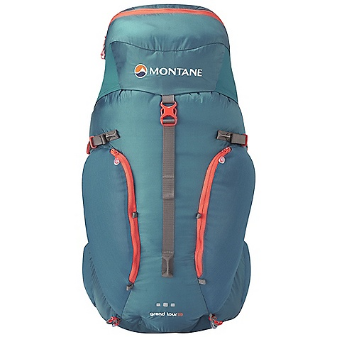 Free Shipping. Montane Grand Tour 55L Pack DECENT FEATURES of the Montane Grand Tour 55L Pack Die Cut Holes To Reduce Weight Across The Panel Extruded 'W' Shaped Aluminium Stave That Is Exceptionally Strong and Lightweight Pre-Curved 'Vertergo Tour' Stave Can Be Bent To Tailor Specifically To The User'S Back For A Close Body Fit and To Follow The Anatomy Of The Back Through The Thoracic Vertebrae (Middle Of The Back) and Lumbar (Lower Back) Spine Curvature The 'Vertergo Tour' Panel Plugs Directly Into The Back Of The Grand Tour 55'S Base Lumbar For A Solid Load Transfer Onto and Across The Hip Belt The 'Vertergo Tour' Panel Can Be Removed From The Pack In Order To Reduce Weight If Extreme Weight Saving and Minimalism Is Required Features A Pre-Curved Horizontal Aluminium Bar Across The Top Of The Back Panel Which Provides Structure For Top Tension Straps To Torque Off This Bar Is Pre-Curved So That The Pack Does Not Inhibit Head Movement 'Vertergo Tour' Insert Within The Hip Belt To Help Transfer Load Onto Your Hips This product can only be shipped within the United States. Please don't hate us. - $197.95