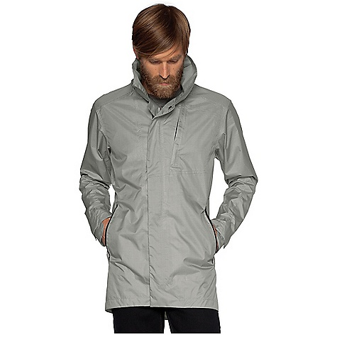 MTB Free Shipping. Nau Men's Succinct Trench DECENT FEATURES of the Nau Men's Succinct Trench Fully taped waterproof seams with DWR finish for protection Offset, covered, two-way zip with DWR finish and wind flap keeps out all of the elements Removable, zip-off hood with one-way drawcord Two front zip pockets, one chest zip pocket one back zip pocket with stowable reflective tape adds visibility on the bike One internal zip pocket to stash your most coveted items Low profile Velcro cuffs for easy adjustment Vented back helps regulate body temperature Lined sleeves and torso for extra insulation The SPECS Weight: 1 lb 5 oz Regular fit Body fabric is a 2.5 Layer lightweight, packable waterproof breathable laminate using 100% recycled polyester yarn dyed plaid pattern and a durable water repellent finish Half lining is recycled polyester textured taffeta - $279.95