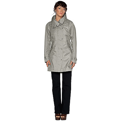 Free Shipping. Nau Women's Succinct Trench DECENT FEATURES of the Nau Women's Succinct Trench Fully taped waterproof seams for protection Detachable hood zips on and off with ease Snap closures on front placket conceal the two-way zip Two zippered hand pockets, one interior pocket Low profile, adjustable waist and snap adjust cuffs Kick pleat vent at back Sleeves and upper half of torso are lined with 100% recycled polyester pucker-weave fabric Tailored Details: Subtle plaid pattern creates surprising visual texture The SPECS Weight: 1 lb 1.6 oz Regular fit Body fabric is a 2.5 Layer lightweight, packable waterproof breathable laminate using 100% recycled polyester yarn dyed plaid pattern and a durable water repellent finish Half lining is recycled polyester textured taffeta - $274.95