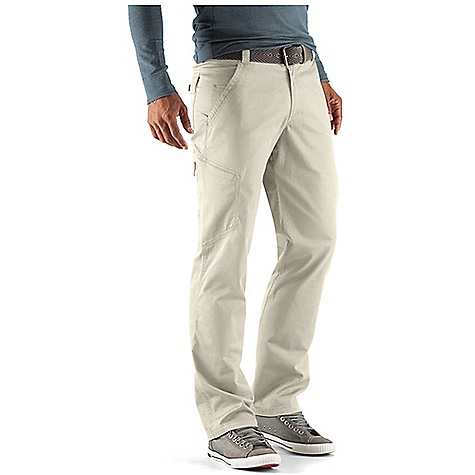 Free Shipping. Nau Men's S-Cargo Pant DECENT FEATURES of the Nau Men's S-Cargo Pant Zip fly with button waist 2 front hand pockets and 1 right coin pocket 2 back pockets and 1 right zip thigh pocket Double needle top stitching Regular fit The SPECS Fabric: Organic cotton 7 oz broken twill weave with 1% spandex for comfort stretch - $124.95