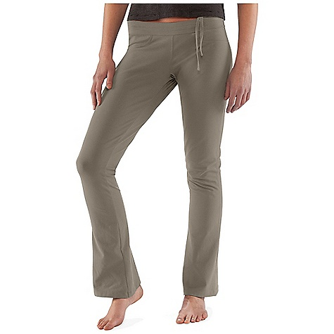 Fitness Free Shipping. Nau Women's Stylus Pant DECENT FEATURES of the Nau Women's Stylus Pant Adjustable waist band with offset tie for comfort Two back patch-on pockets Body skimming fit Boot-cut leg 10% spandex for comfort and stretch The SPECS Weight: 12.6 oz Slim fit A blend of 55% organic cotton 37% Tencel 8% spandex in a soft knit with stretch for movement (249 grams/m2) - $64.95