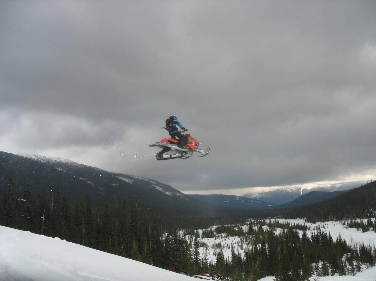 Snowmobile Smithers BC